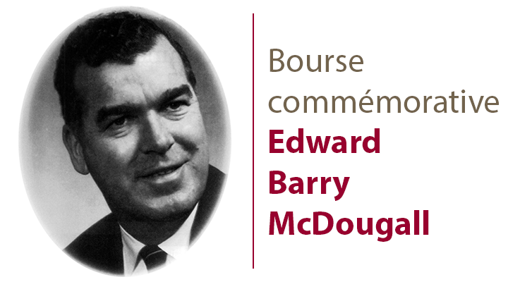 Bourse commémorative Edward Barry McDougall