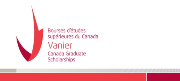 Vanier Canada Graduate Scholarships Program 2017-18